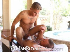 Picture ManRoyale - Felix Warner Rides Steve Vexxs B...