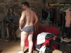 Picture Reversed casting - slovak guy gets blowjob f...
