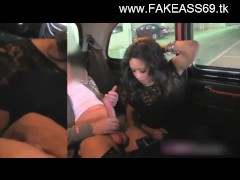 sexy brunette fucked in fake taxi by driver 22
