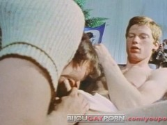 Picture Sexy Redhead Timothy Long Seduced by Gay Cla...