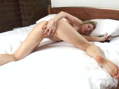 Picture Horny housewives fuck their hairy pussies co...