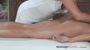 Massage Rooms Hot Filipino lesbian stunner enjoys an intense orgasm