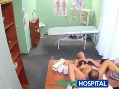 FakeHospital Doctor fucks his hot bosses wife