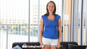 CastingCouch-X - Big natural tits Brooke Wylde auditions for porn