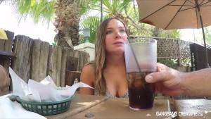GangBang Creampie Cum dumpster get filled up with cum