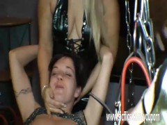 Picture Extreme Young Girl 18+ fisting in bondage ti...