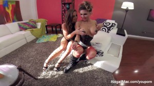Abigail Mac POV Threesome