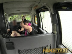 Picture FakeTaxi Lady sucks cock to pay for her cab