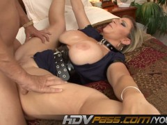 Busty MILF Sara Jay Getting Missionary And Cowgirl