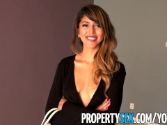 PropertySex - Sizzling hot Latina sex with landlord at rental showing