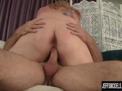 Big boobed BBW Kali Kala Lina riding a fat dick