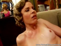 Picture Horny MILF Ignores Business While Fucking