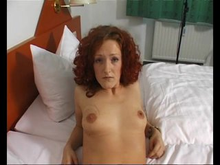 Amateur Pov Milf video: German redhead MILF takes it all off - Julia Reaves