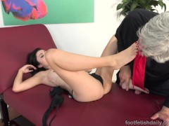 Picture Adria Rae Gives a Hot Footjob and Receives a...