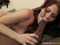 Picture Jessica Ryan takes two big black cocks