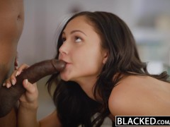 Picture BLACKED Pop Star Ariana Marie First Interrac...