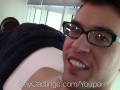 GayCastings - Model Agent Fucks Colten Casey in Gay Castings Meeting