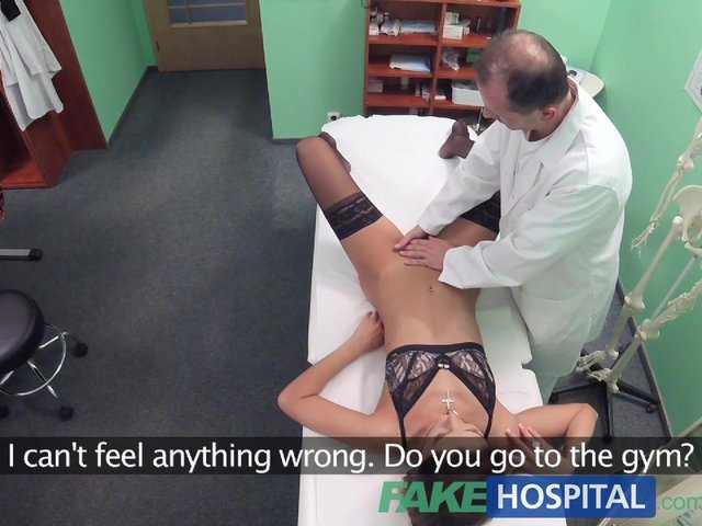 Fakehospital doctor cures sexy patient with a heavy cock 3