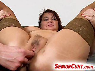 Vagina Eva Mom video: BBW mom Eva fat vagina spreading up close