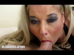Picture Horny Milf Blondie is such an oral sex pro w...