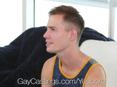 Picture GayCastings - Amateur Clean Cut Cameron Jako...