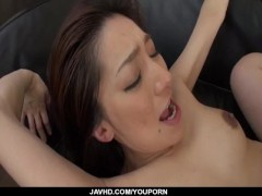 Picture Marina Matsumoto threesome sex in harsh mann...