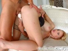 Picture Asstraffic Helena Valentine in hardcore anal...