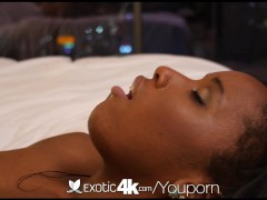 Picture Exotic4K - Black beauty Ashley Pink has fun...