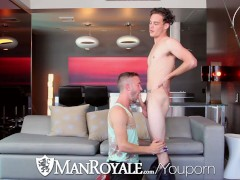 Picture ManRoyale - Kip pounds Colt Rivers tight ass