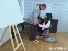Picture Simona wanted the old teacher s dick