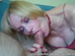Spying On Amateur Stepmom Melanie