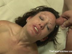 Picture Jennifer White gets face fucked