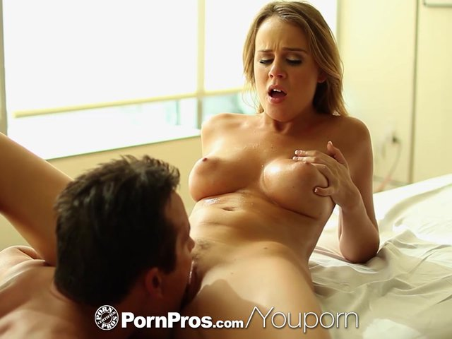 PornPros - Alexis Adams uses her curves and pussy after massage