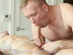 Picture GayRoom - Horny Daniel Duress and Sean Chris...