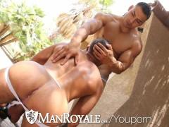 ManRoyale - Muscle BFs Rod Stone & Fernando Del Rio Fucking