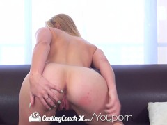 CastingCouch-X - Cute blonde Cali girl Cosima Knight first audition
