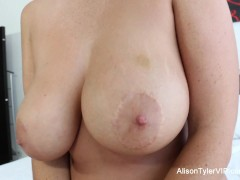 Picture Alison Tyler uses her Hitachi