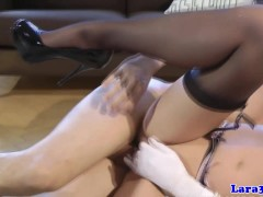 Picture Drilled english milf jizzed in mouth