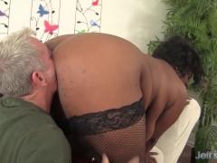 Picture Sexy black plumper Marliese Morgan gets fuck...