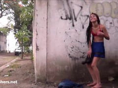 Picture South American Polly public striptease and Y...