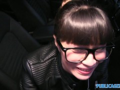 Picture PublicAgent Russian creampied outdoors for c...