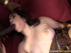 Picture Native American Nadine Sage BBC Anal