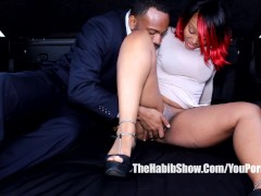 Picture Jovan jordan thick red bangng in the pickup...