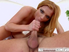 Picture All Internal smiling brunette Chrissy Fox pu...