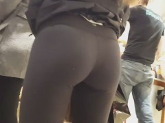 Picture Hottest ass ever in black tights brought by...