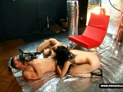 Picture Lee Dia and Nicole Evans Giving POV Deepthro...