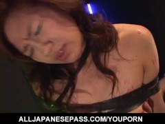 Picture NAughty Asian milf Marin Hoshino has pussy t...