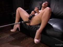 Picture Asian Mega Babe is Fucked into Oblivion