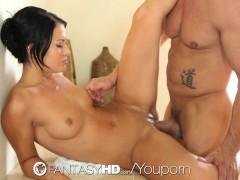 Picture FantasyHD - Kelly Diamond close shaving befo...