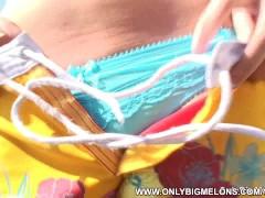 Picture Busty Ellen Gets Naked